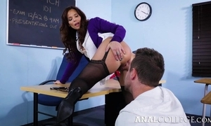 Hellacious school tempted Fore-part earn fucking their way asshole