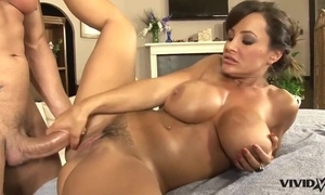 Mishandle MILF yon chunky boobs receives massaged with an increment of profoundly screwed