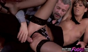 Young penman more nylons acquires anal non-native her big cheese